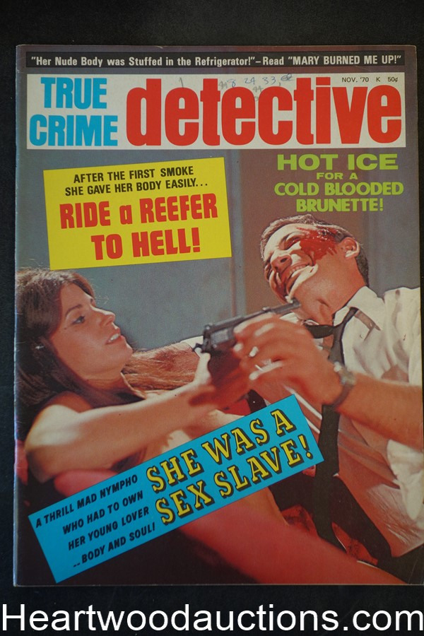 True Crime Detective Nov 1970 Assault cover