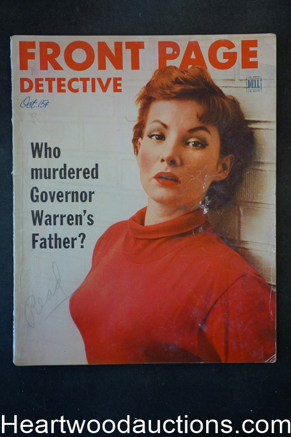 Front Page Detective Oct 1952