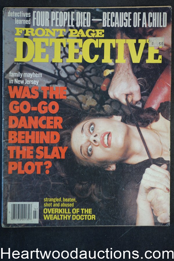 Front Page Detective Jul 1979 Assault Cover