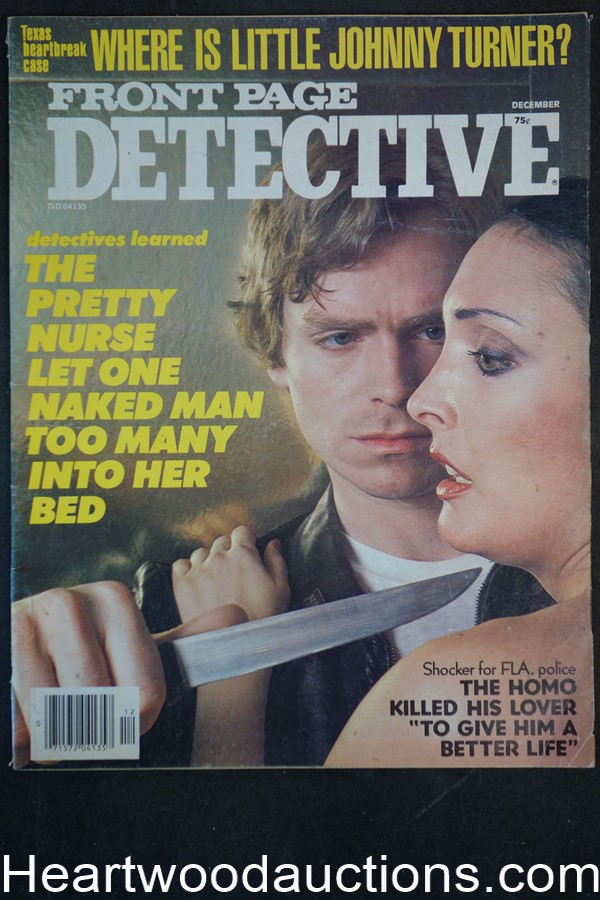 Front Page Detective Dec 1979 Assault Cover