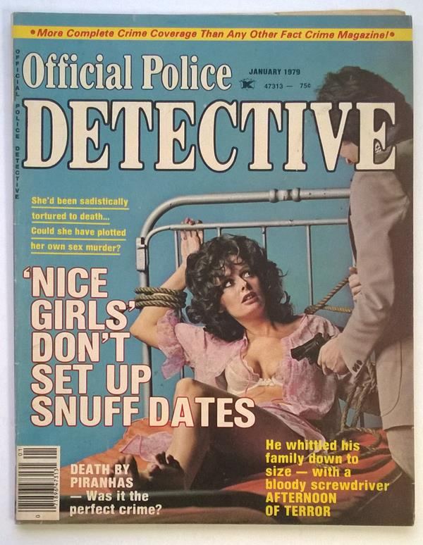 Official Police Jan 1979 Bondage Cover