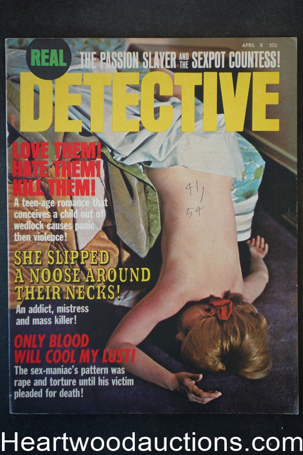 Real Detective Apr 1971 - High Grade