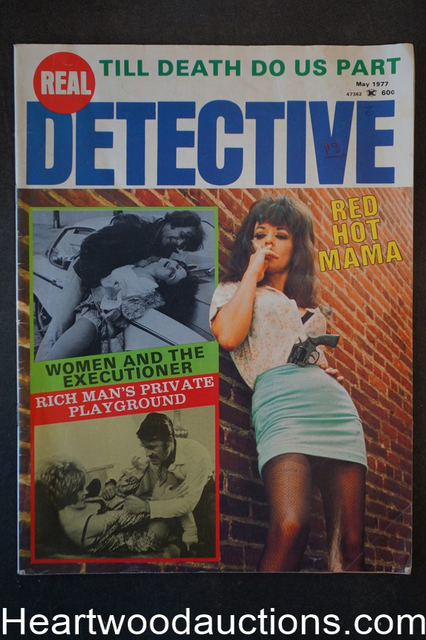 Real Detective May 1977 Bad Girl, Assault Cover