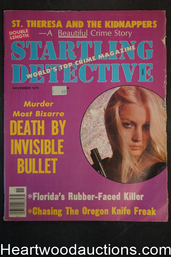 Startling Detective Nov 1979 Bad Girl Cover
