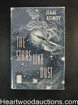 The Stars Like Dust by Isaac Asimov (Signed)