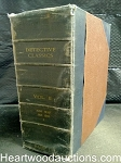 Bound Book of 8 Detective Classics Jun 1930 to Jan 1931