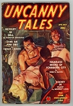 Uncanny Tales April-May 1939 FIRST; Red Circle; Bondage GGA Cvr; Revelry in Hell