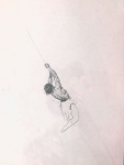 Original Art - Swinging Tarzan by Roy G. Krenkel J. Allen St. John Style