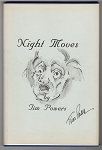 Night Moves by Tim Powers (Signed Author's Copy w/Original Art)- High Grade