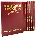 Author's Choice Monthly (Issues 0-29) Signed, Leather