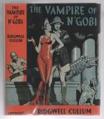 The Vampire of N'Gobi by Ridgwell Cullum (First Edition) Fax DJ