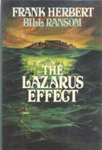 The Lazarus Effect by Frank Herbert & Bill Ransom First Edition