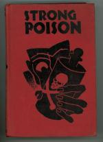 Strong Poison by Dorthy L.  Sayers (First U.S. Edition)