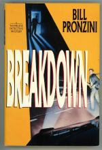 Breakdown by Bill Pronzini (First Edition) Signed