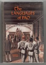 The Languages of Pao by Jack Vance (First Edition) Ric Binkley Cvr