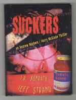 Suckers by J. A. Konrath Jeff Strand (First Edition) Limited Signed