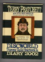 Discworld: Thieves' Guild Yearbook & Diary 2002 Pratchett & Briggs 1st Archive Copy