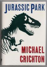 Jurassic Park by Michael Crichton (First Edition) Signed