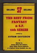 The Best from Fantasy and Science Fiction Twelfth Series 1st UK Gollancz File Copy