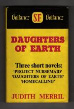 Daughters of Earth by Judith Merril (First Edition) Gollancz File Copy