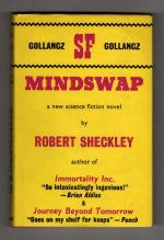 Mindswap by Robert Scheckley (First UK Edition) Gollancz SF