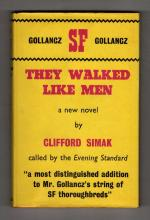 They Walked Like Men by Clifford Simak (First UK Edition) Gollancz SF