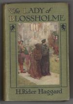 The Lady of Blossholme by H. Rider Haggard (First edition) W. Paget Art