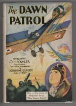 The Dawn Patrol by Guy Fowler (First Edition) Film Novelization