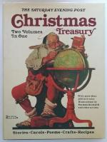 Saturday Evening Post Christmas Treasury (2 Volumes in One) Norman Rockwell