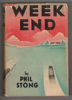 Weekend by Phil Stong (First Edition)