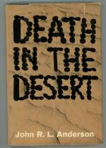 Death in the Desert by John R. L. Anderson (First Edition)