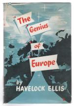 The Genius of Europe by Havelock Ellis (First Edition)