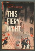 This Fiery Night by Joan Vatsek (First Edition)