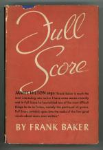 Full Score by Frank Baker (First Edition)