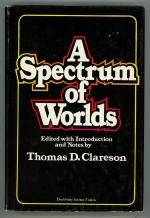 A Spectrum of Worlds by Thomas D. Clareson (First Edition)