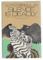 Silence is Deadly by Lloyd Biggle Jr. (First Edition) Review Copy