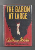 The Baron at Large by John Creasey as Anthony Morton (First UK Edition)