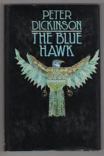The Blue Hawk by Peter Dickinson (First UK Edition) Gollancz File Copy