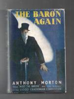 The Baron Again by Anthony Morton [John Creasey] First Edition