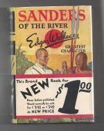 Sanders of the River by Edgar Wallace (First Edition) Wraparound Band