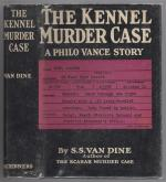 The Kennel Murder Case by S.S. Van Dine (First Edition)