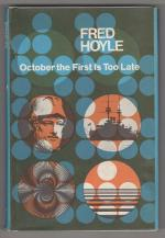 October the First Is Too Late by Fred Hoyle (Book Club Edition)