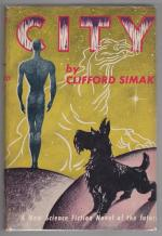 City by Clifford Simak (First Edition)