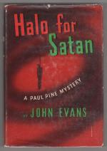 Halo for Satan by John Evans (First Edition)