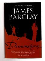 Demonstorm by James Barclay (First UK Edition) File Copy