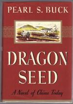 Dragon Seed by Pearl S. Buck (First Edition) Fax DJ