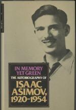 In Memory Yet Green by Isaac Asimov (Review Copy)