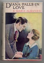 Diana Falls in Love by E. Maria Albanesi (Rare DJ) Publisher's Copy