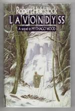 Lavondyss by Robert Holdstock (First Edition) Gollancz Fantasy File Copy