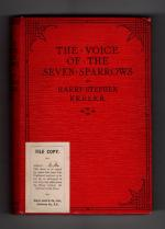 The Voice of the Seven Sparrows by Harry Stephen Keeler (File Copy)